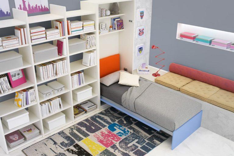 Hidden Single Bed 2 Ital Living