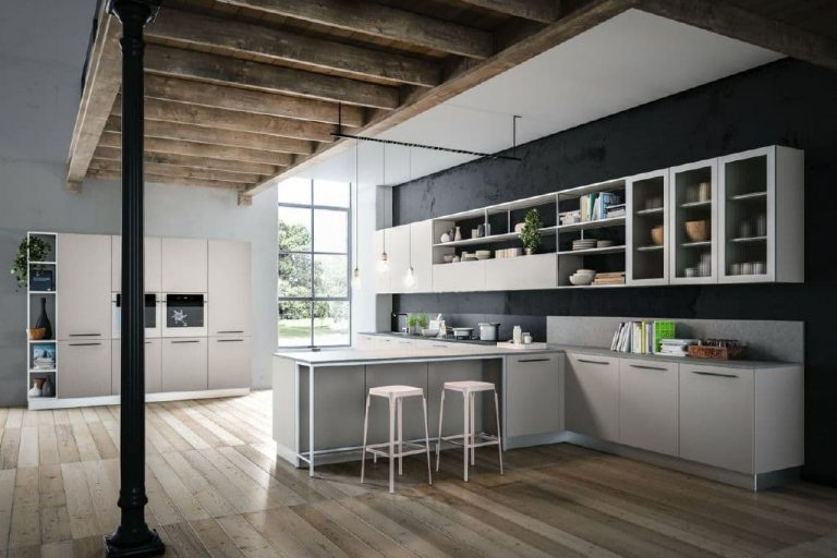 Larice Perla Kitchens 3 Ital Living
