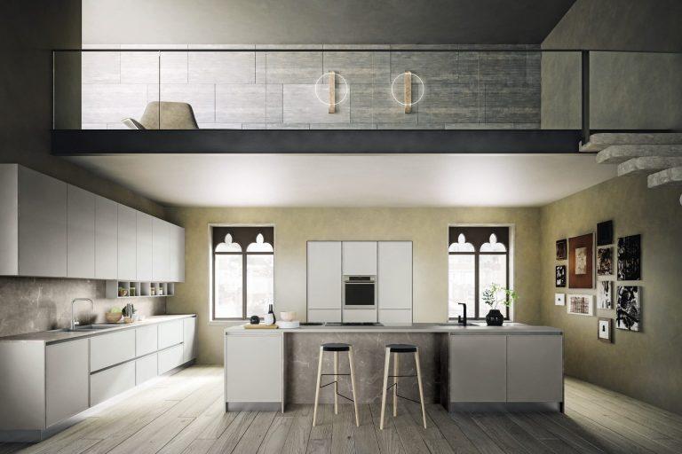 Sky Telaio Kitchens 2 Ital Living